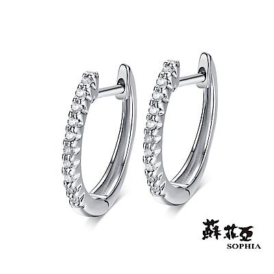 蘇菲亞SOPHIA 耳環- 圍繞鑽石耳環