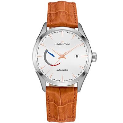 漢米爾頓Jazzmaster Power Reserve系列機械腕錶(H32635511)