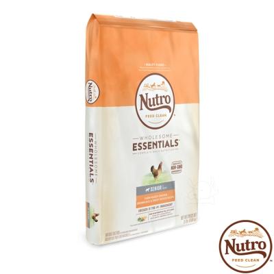 【Nutro 美士】全護營養 高齡犬(農場鮮雞+糙米+地瓜)15磅 X1包