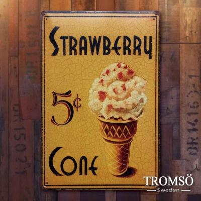 TROMSO紐約街頭廣告鐵牌-復古甜點