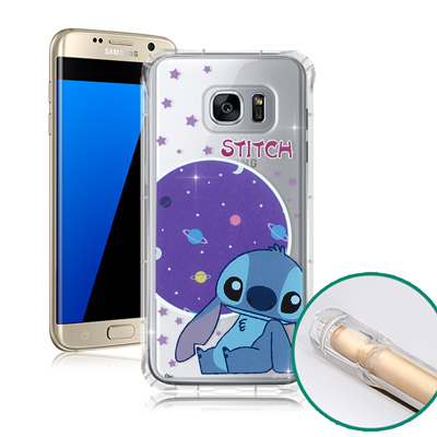 迪士尼授權正版 Samsung Galaxy S7 5.1吋 空壓安全手機殼(史...