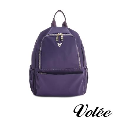 Volee飛行包 -  輕旅行筆電後背包 - 法國紫