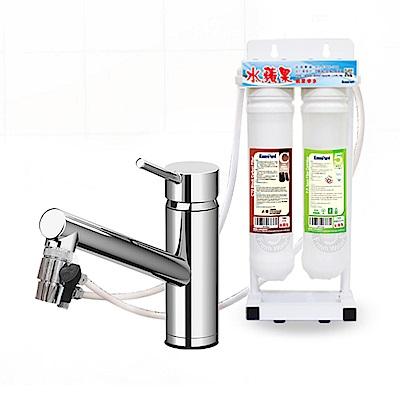 EssenPure水蘋果 簡易式二道過濾器 (DIY自助型)