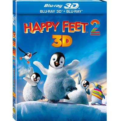 快樂腳2 (3D+2D雙碟版)  藍光 BD
