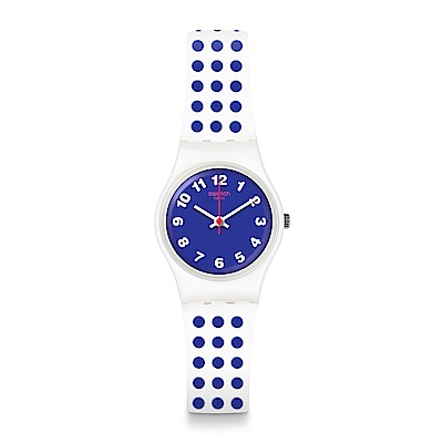 Swatch The Swatch Vibe BLUEDOTS 藍色圓點手錶