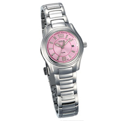 TITUS 鐵達時 都會品味個性時尚腕錶-粉紅/28mm