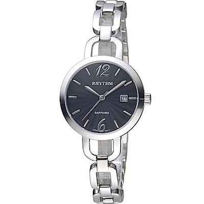 日本麗聲錶RHYTHM浪漫縷空手鍊錶(LE1606S02)-30mm