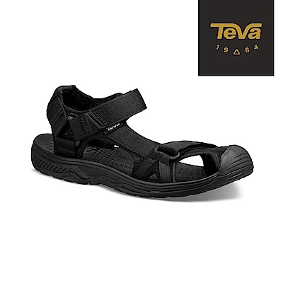 TEVA 美國 男 Hurricane Toe Pro 護趾水陸機能涼鞋 黑