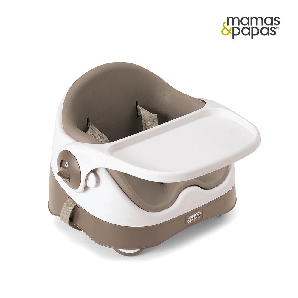 餐椅-Mamas & Papas 三合一都可椅-暖灰棕