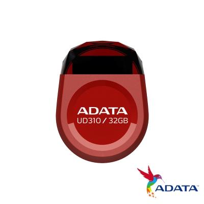 ADATA威剛 UD310/32GB 迷你寶石行動碟(紅色)