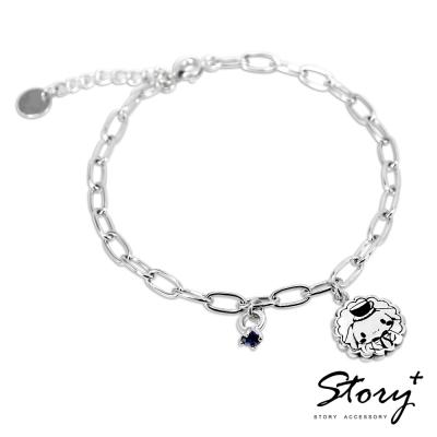 STORY-Cinna Cokkie 喜拿餅乾誕生石純銀手鍊