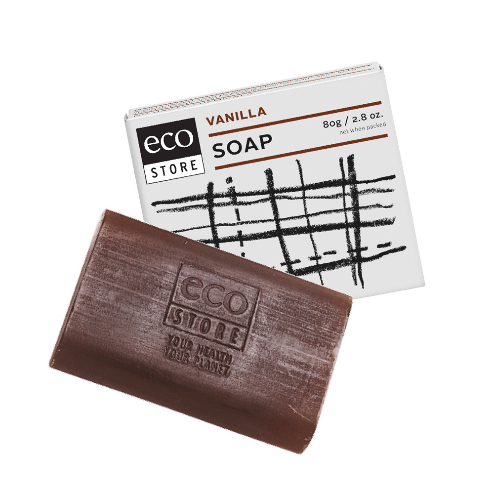 紐西蘭ecostore 純淨香皂-香草 80g
