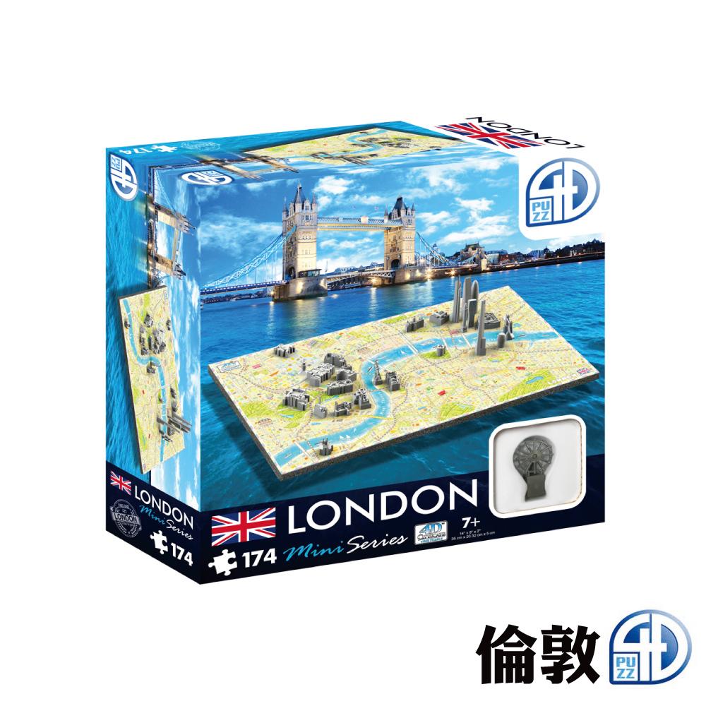 4D Cityscape 4D 立體迷你拼圖 - 倫敦