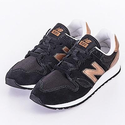 New Balance-女休閒鞋WL520SNC-黑