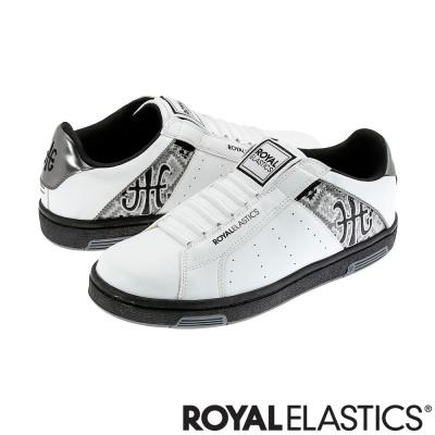 Royal Elastics 經典 Icon 休閒男鞋-白銀