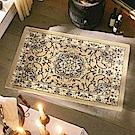 范登伯格 - 洛克  進口仿羊毛踏墊 -  瑰金 (黃 - 60 x 90cm)