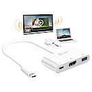 j5create USB Type-C 轉 HDMI 4K 三合一螢幕轉接器-JCA379