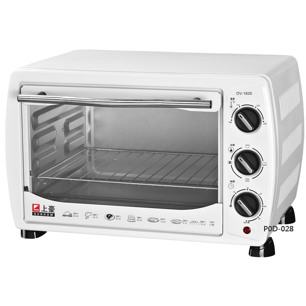SUNHOW 上豪18L電烤箱 OV-1820