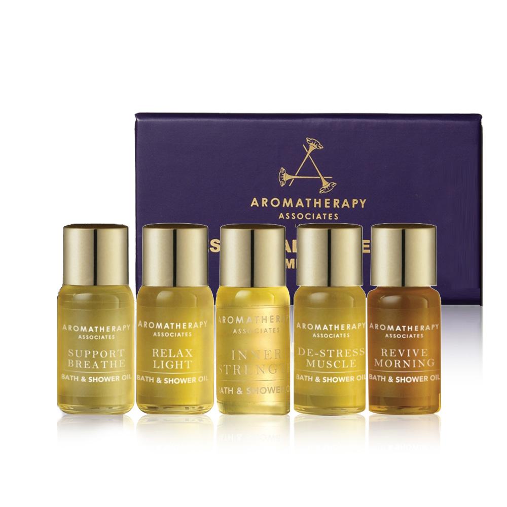 Aromatherapy Associates 經典5款沐浴油體驗組