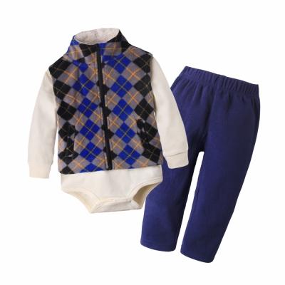 baby童衣-兒童套裝-男女寶寶休閒居家服3件套