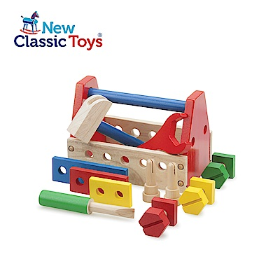 荷蘭New Classic Toys 基礎小木匠工具組 - 10550