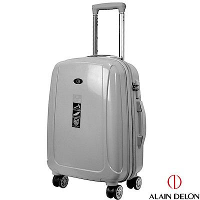 ALAIN DELON 亞蘭德倫 20吋旅者風情系列旅行箱(灰)