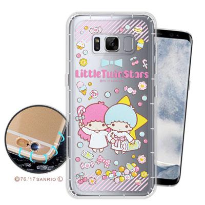 三麗鷗授權 KIKILALA Samsung Galaxy S8空壓氣墊手機殼(...