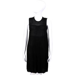 ANNA RACHELE 黑色直紋設計無袖洋裝
