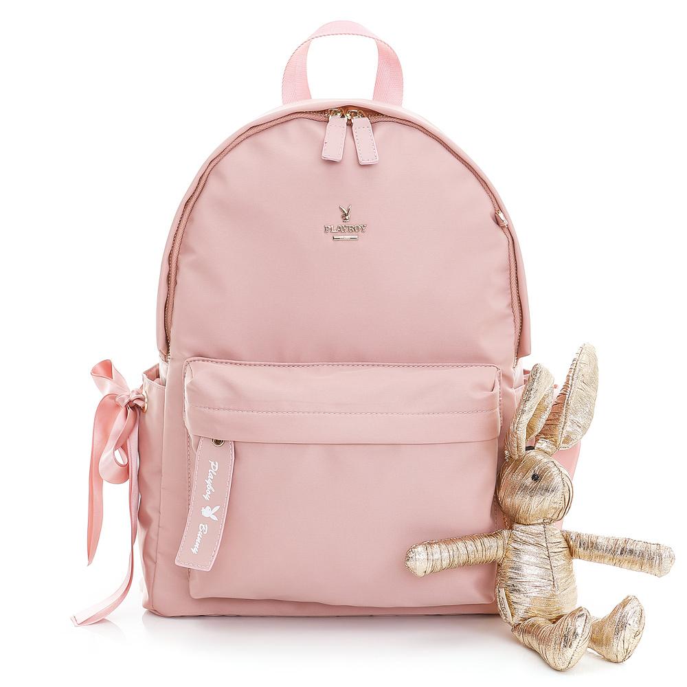 PLAYBOY- 後背包 Gift 獻禮系列-芭蕾粉