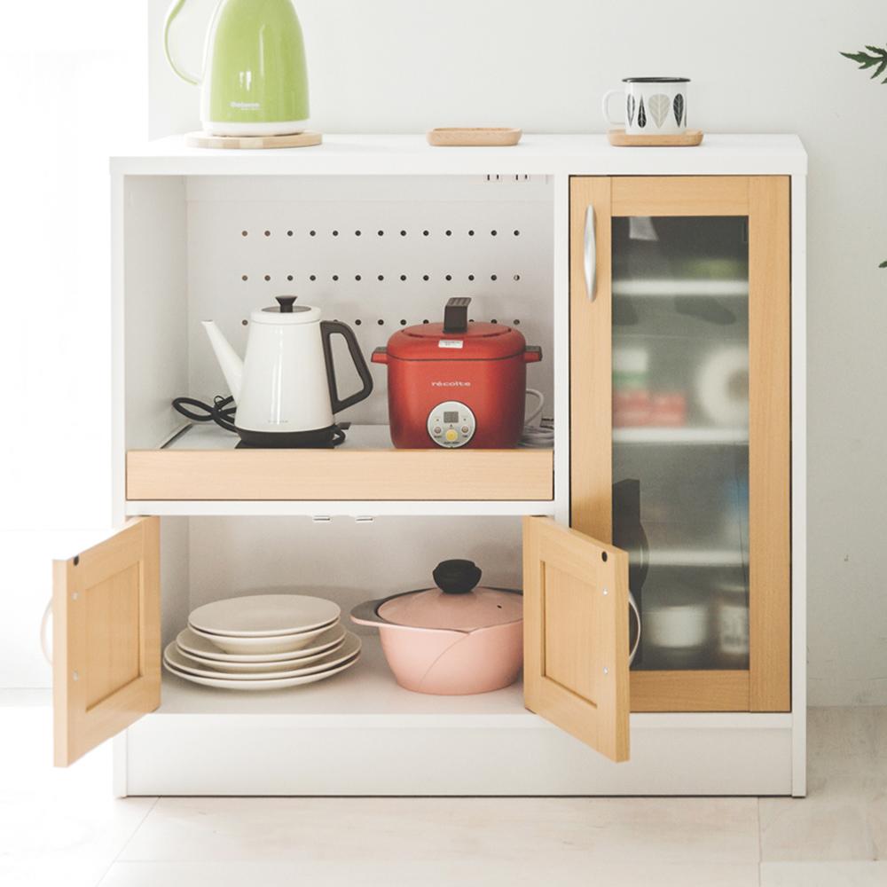 完美主義 廚房櫃/電器架/廚房收納櫃(3色)-88X39.5X83cm