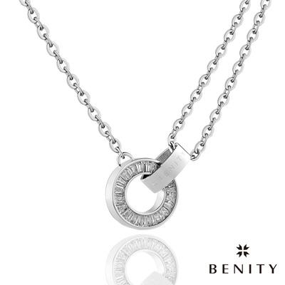 BENITY 無與倫比  316 白鋼/西德鋼 女項鍊