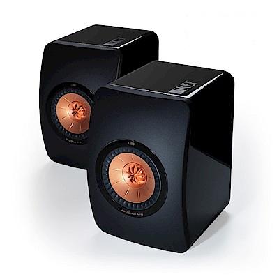 英國 KEF LS50 旗艦Hi-Fi小型精巧監聽揚聲器喇叭 公司貨(黑色)