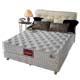 夢菲思 二線蠶絲+乳膠蜂巢式獨立筒床墊-雙人