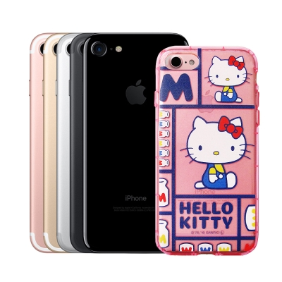 三麗鷗Hello Kitty貓 iPhone 8/iPhone 7 夢幻防震空壓...