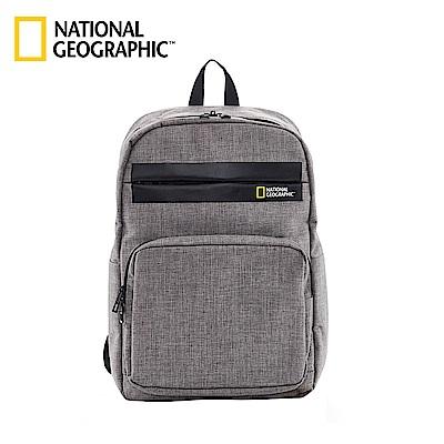 國家地理 National Geographic Stream 無印雙肩後背包-灰