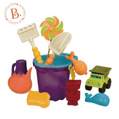 【麗嬰房】美國 B.Toys 光腳丫沙灘包(芒果色)