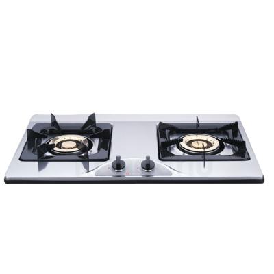 櫻花牌 G-252K 歐式琺瑯白/不鏽鋼檯面式二口瓦斯爐