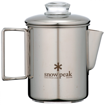 SNOW PEAK PR-006 不鏽鋼露營咖啡壺 900ML