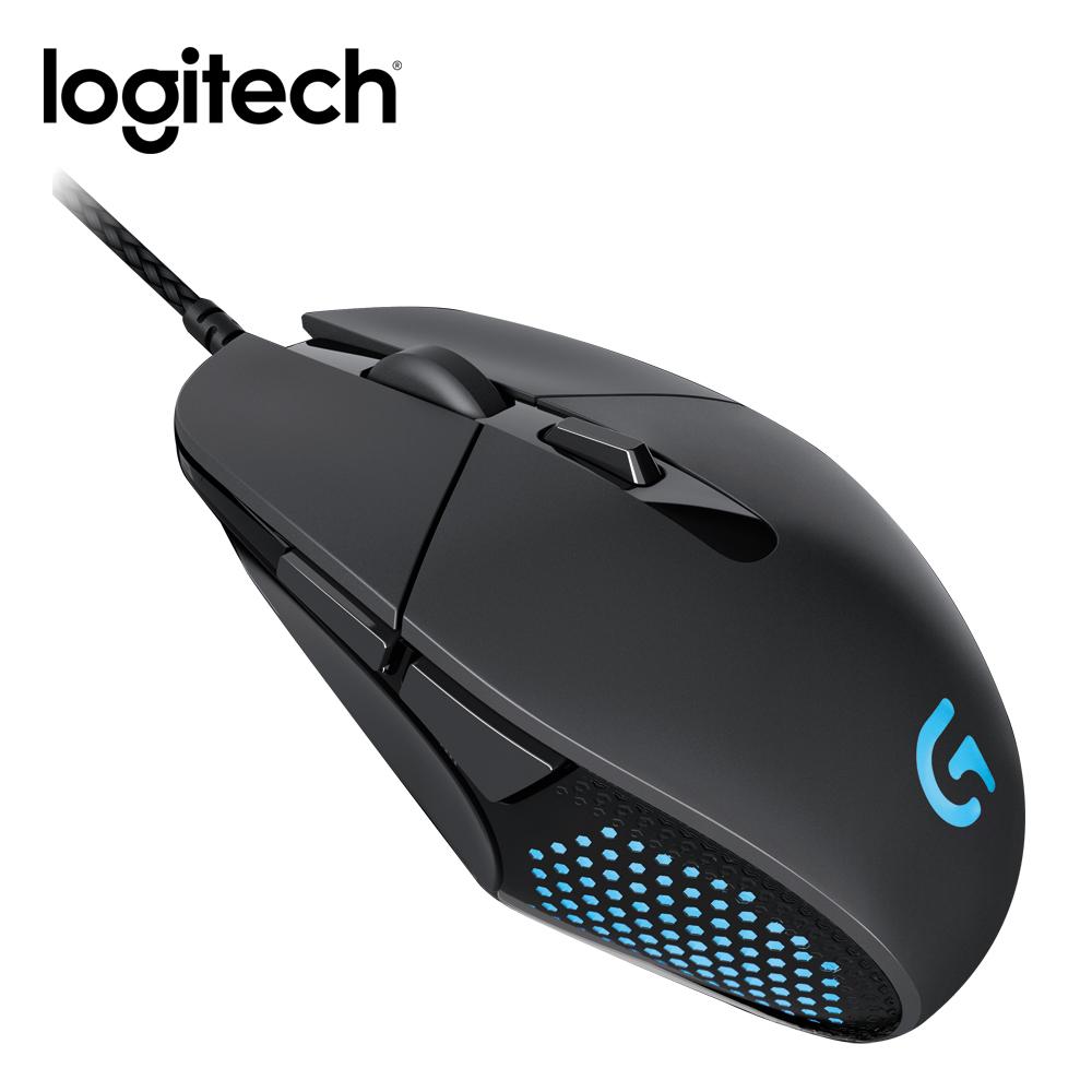 羅技 G303 RGB 高效能遊戲電競滑鼠