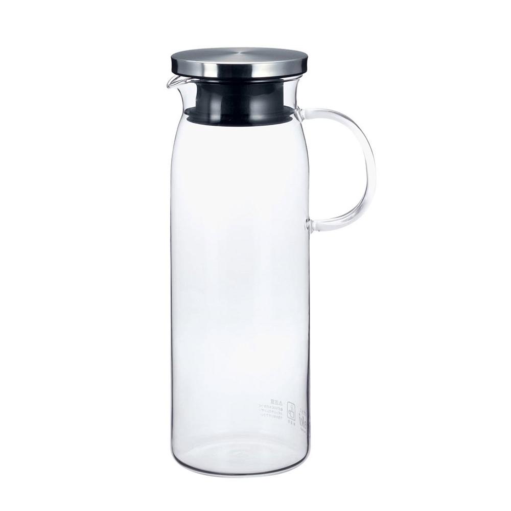 iwaki 耐熱玻璃水壺 1L