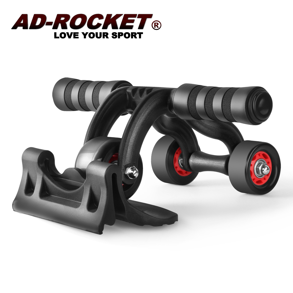 【AD-ROCKET】三角健腹器/滾輪/健腹輪/三輪健腹器