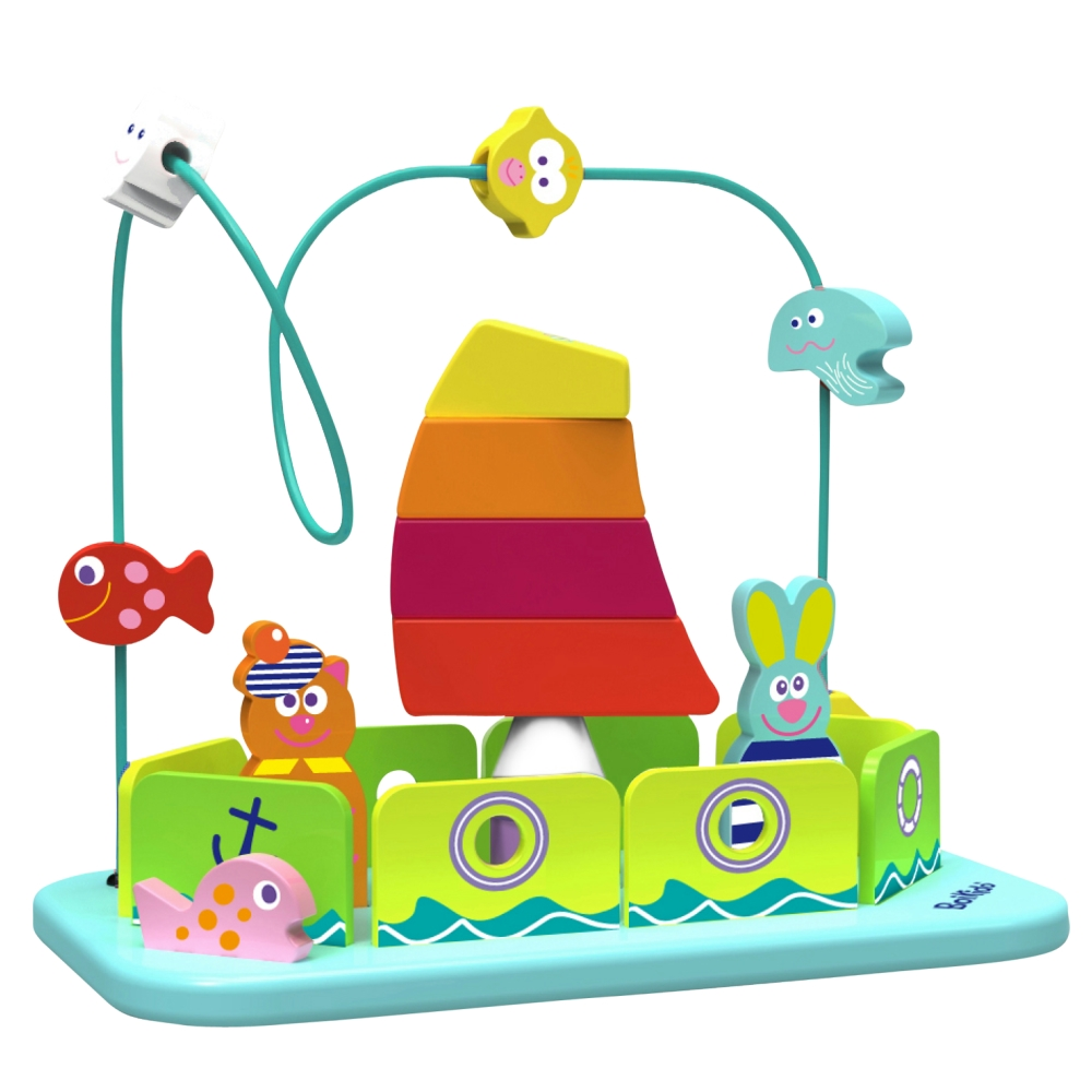 法國Boikido木製玩具-帆船迷宮