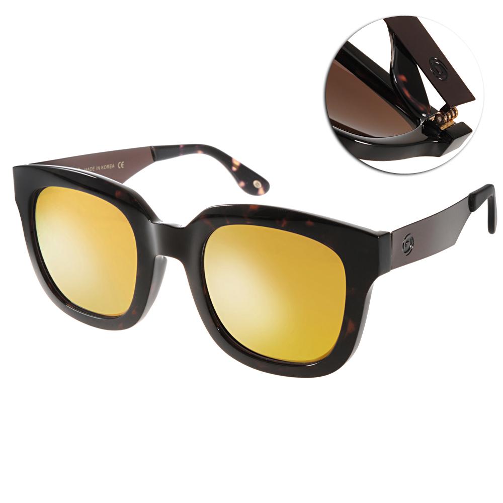 Go-Getter太陽眼鏡 個性大框/深邃琥珀-黃水銀#GS4010 12