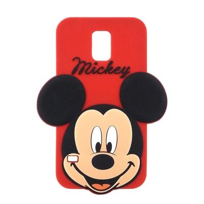 Disney Samsung Galaxy S5 立體造型大頭保護套-米奇