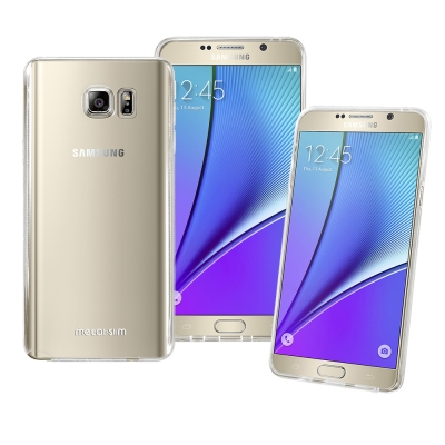 Metal-Slim Samsung Galaxy Note5 時尚超薄TPU透...