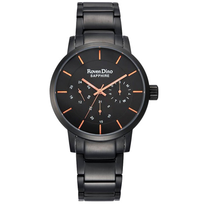 Roven Dino羅梵迪諾  限時多采時尚腕錶-RD729B-396-41mm