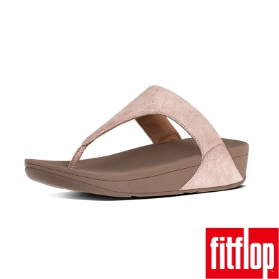 FitFlop TM-SHIMMY TM SUEDE TOE-THONG-玫瑰金