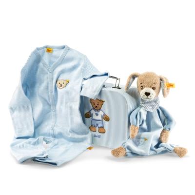 STEIFF德國金耳釦泰迪熊 - 嬰幼兒禮盒 Good Night Dog  Gift