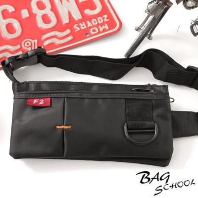 DF BAG SCHOOL - 旅遊小幫手貼身腰包-共<b>2</b>色