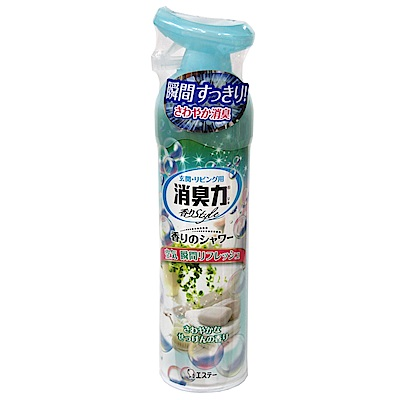 日本雞仔牌S.T 室內瞬間消臭力噴霧-沐浴皂香味(280ml)